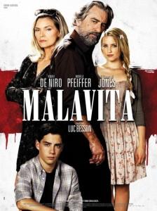 Malavita : De Niro aimerait retravailler avec Pfeiffer et Besson - affiche