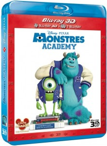 Monstres Academy en VOD le 10 novembre et BR/DVD le 20 novembre - Jaquette BR