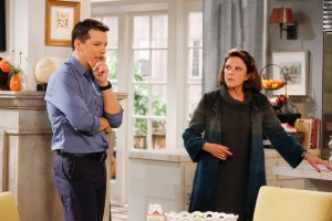 Sean Saves The World : Sean Hayes, papa célibataire attendrissant - Sean Hayes et Linda Lavin
