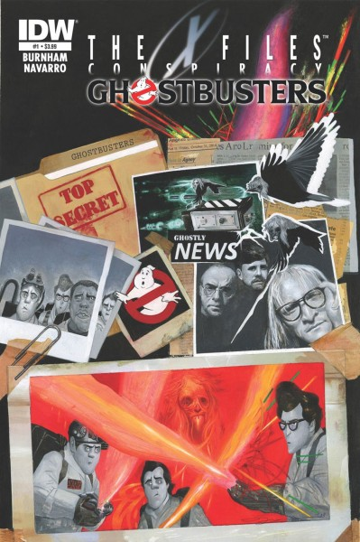 X-Files Comics : Cross-over avec Ghostbusters, Transformers, Les Tortues Ninja...- couverture