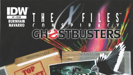 X-Files Comics : Cross-over avec Ghostbusters, Transformers, Les Tortues Ninja...- une