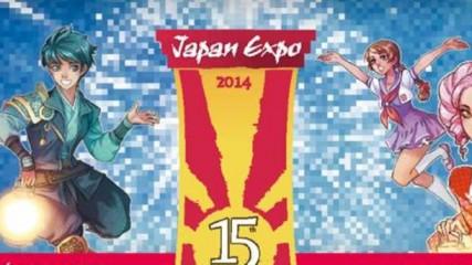 La Japan Expo fête ses 15 ans en 2014 - une