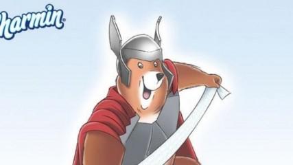 """Thor : La marque de papier toilette Charmin est un """"Ass-gardian"""" - une"""