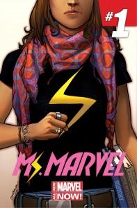 Marvel : Miss Marvel musulmane - Couv