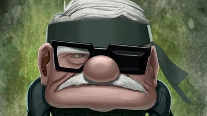 Pixar : Les personnages en héros de jeux vidéo