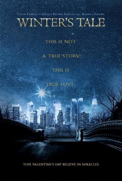 Winter's Tale : Premier trailer et affiche avec Colin Farrell - Affiche