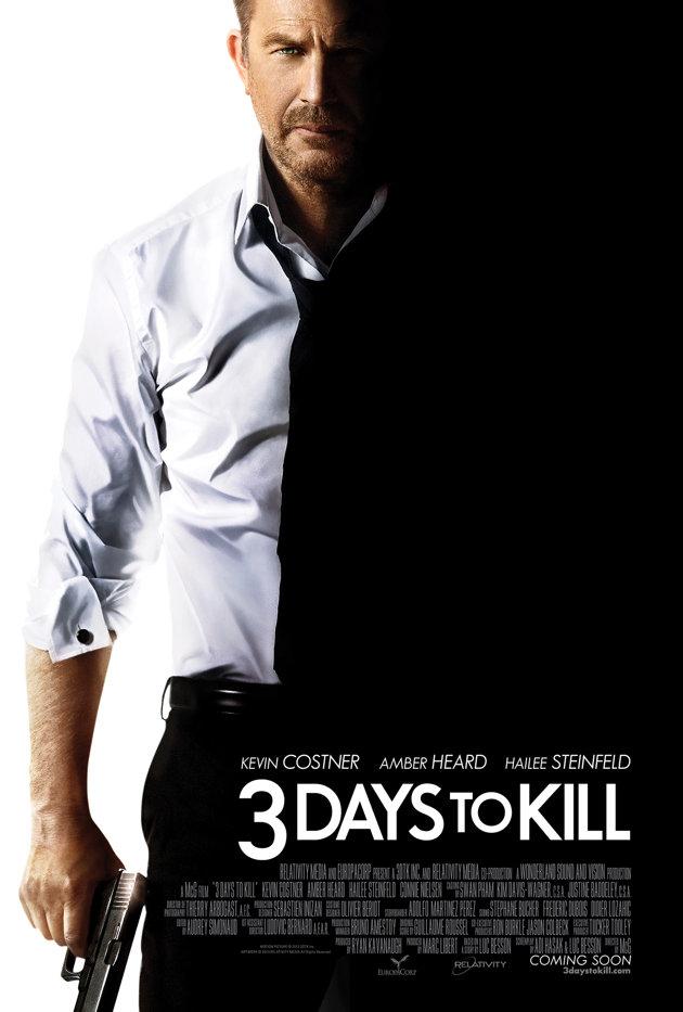 3 Days to Kill : Affiche et bande-annonce - Affiche