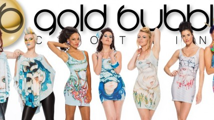 Glamgeek : Gold Bubble Clothing, la nouvelle marque fashion geek - une