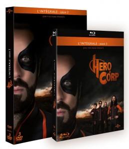 hero corp saison 3 en DVD blu ray