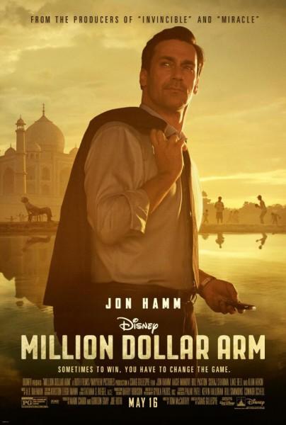 Million Dollar Arm : Affiche et bande-annonce - Affiche