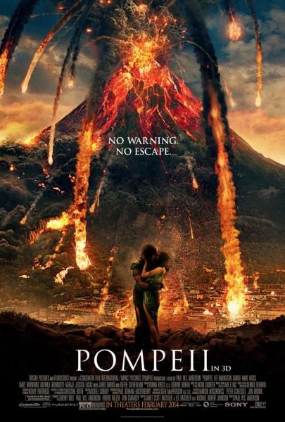 Pompeii : Nouvelle Affiche volcanique - affiche