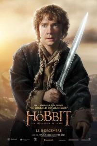 Sorties Cinéma du 11 décembre 2013 - Le Hobbit : La désolation de Smaug - Affiche