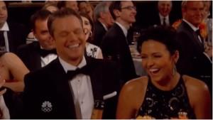 Matt Damon glden globes mort de rire vanne prothèse génitale
