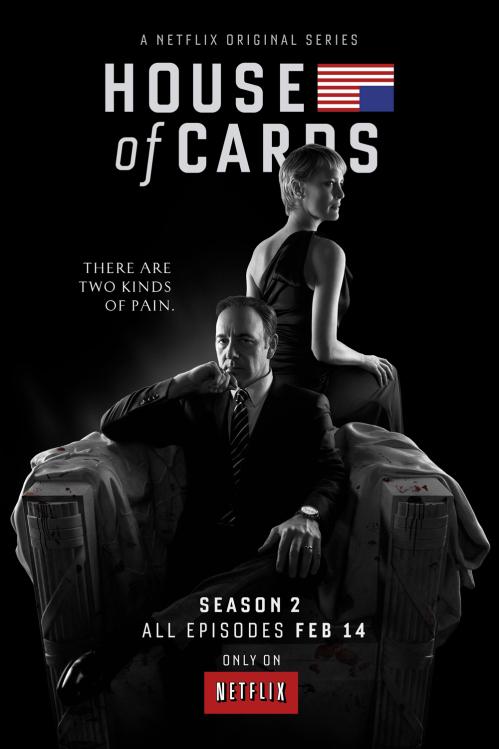 House of Cards Saison 2 : chasser ou être chassé (trailer et affiche) - affiche