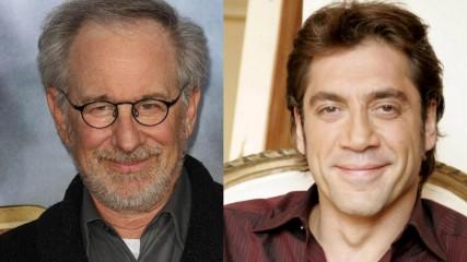 Steven Spielberg et Javier Bardem pour Montezuma - une