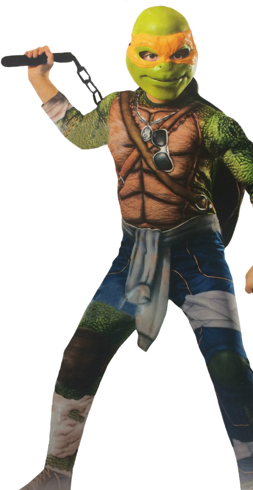 tortues ninja nouveau look de michelangelo michelanglo