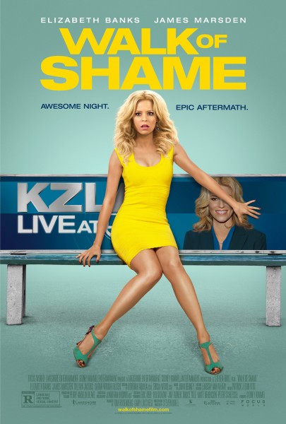Walk of Shame : Lendemain de fête difficile pour Elizabeth Banks (trailer) - affiche