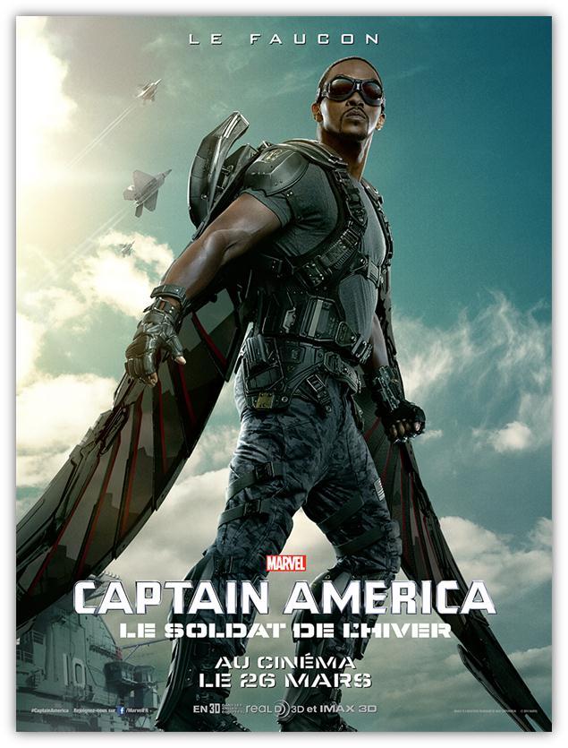 Captain America Winter Soldier The Falcon poster