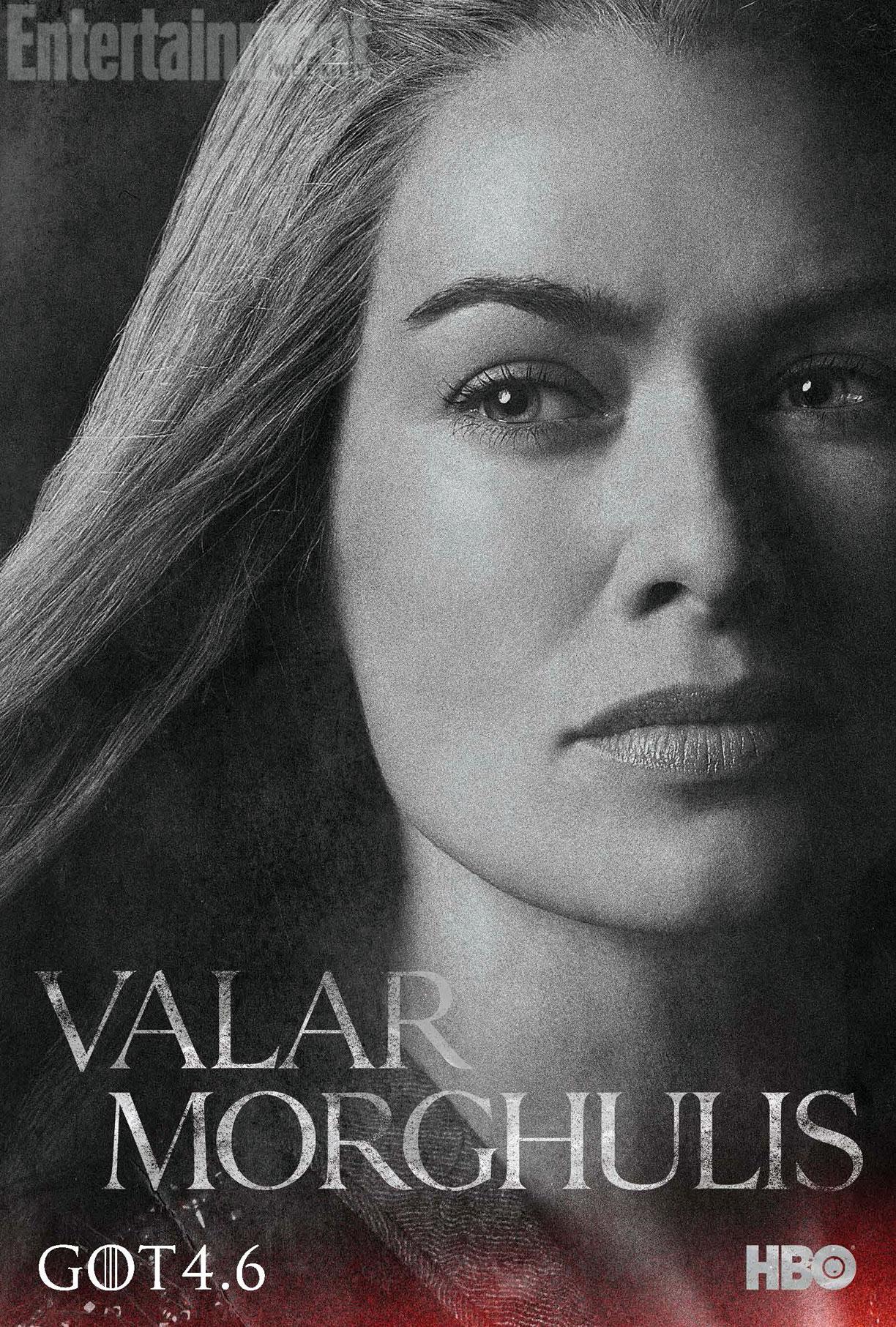 GOT-CERSEI- nouveau poster saison 4 valar morghulis brain damaged