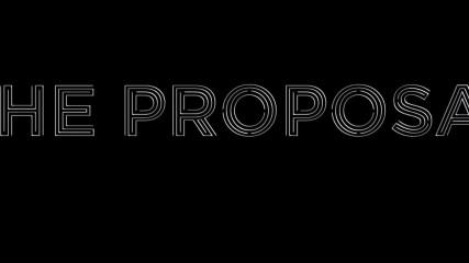 The Proposal : Bande-annonce geek de demande en mariage. - Une