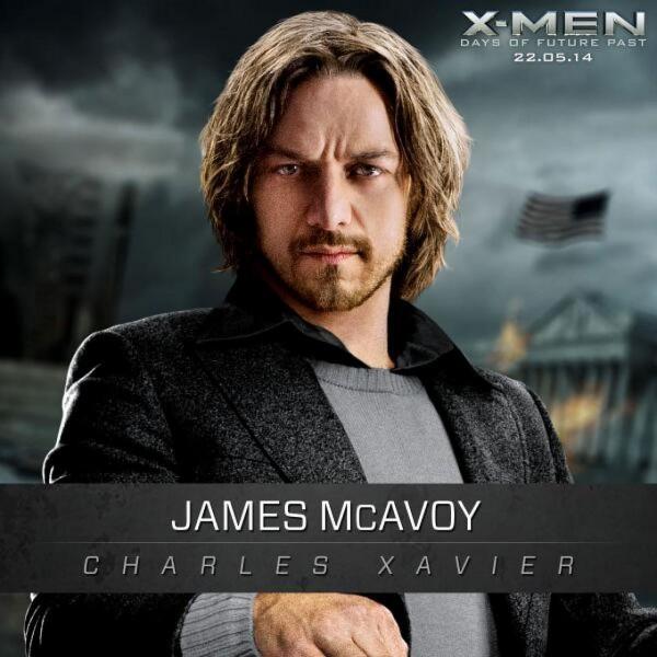 X-Men Days of Future Past : Image de James McAvoy
