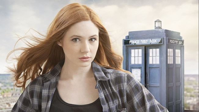 Amy pond dans doctor who