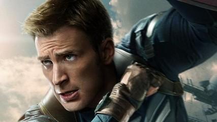 Captain America Le soldat de l'hiver : Affiche avec le Captain