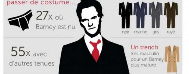 how i met your mother saison 9   infographie barney