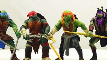 tortues ninja look des tortues en jouet