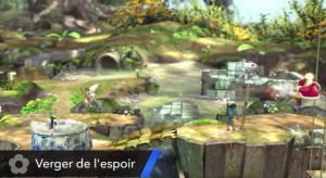Super Smash Bros Nintendo Direct stage