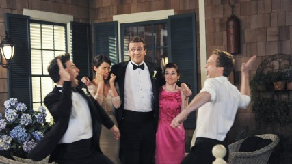 how i met your mother final decevant bye bye lily marshall ted barney robin image une