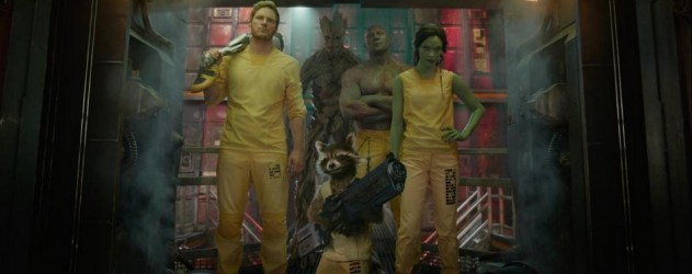 Les Gardiens de la Galaxie : L'équipe prête au combat (photo)