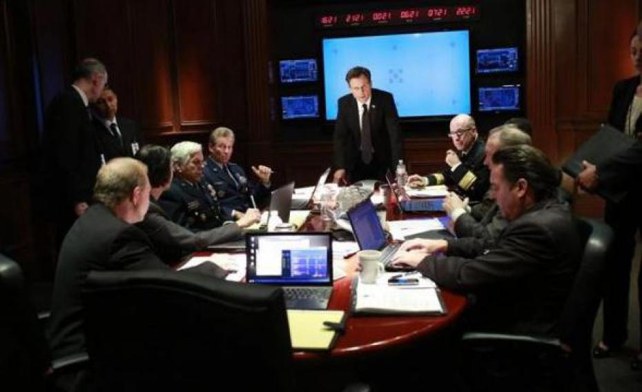 Scandal saison 3 and the president is boom spoilers for A la maison blanche saison 3