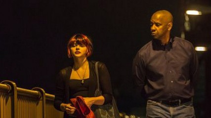 The Equalizer : Denzel Washington et Chloe Moretz en images