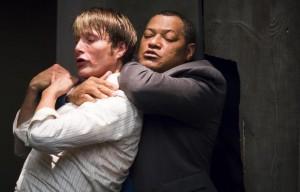 Hannibal-saison-2-Mads-Mikkelsen-Laurence-Fishburne