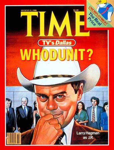 JR dallas time magazine engouement des séries