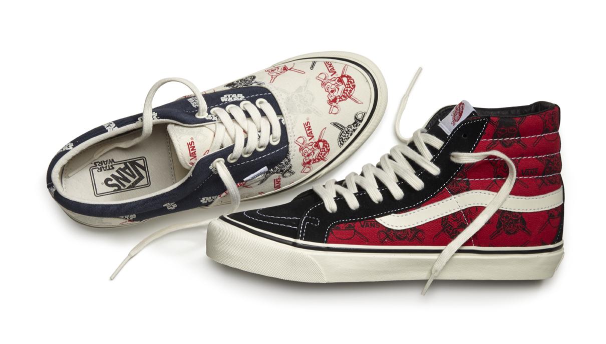 vans lance une collection de chaussures star wars brain damaged. Black Bedroom Furniture Sets. Home Design Ideas
