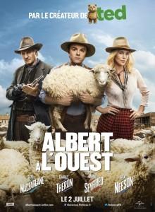 Albert à l'ouest poster