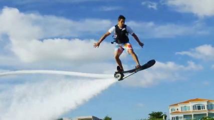 Hoverboard version aquatique