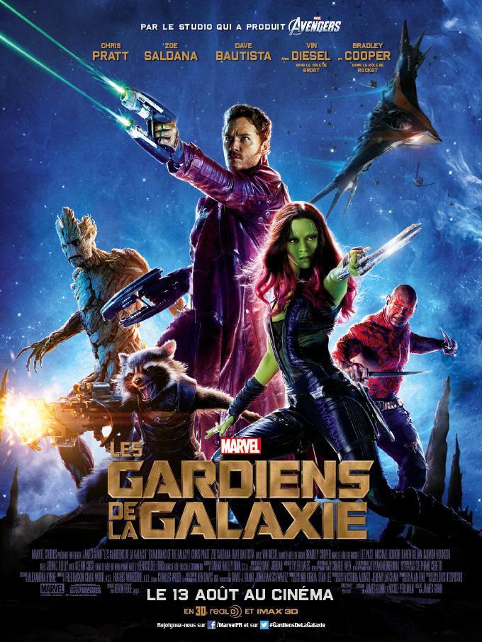 Sujet cinéma [ Notez les derniers films et séries que vous avez vu ] Les-gardiens-de-la-galaxie-affiche-francaise
