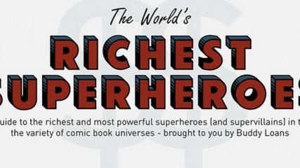 Super-héros : Qui est le plus riche ?