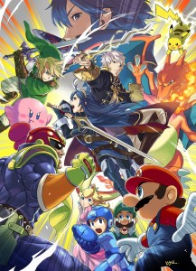 Super Smash Bros fire emblem illus1