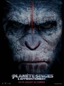la planète des singes poster  critique