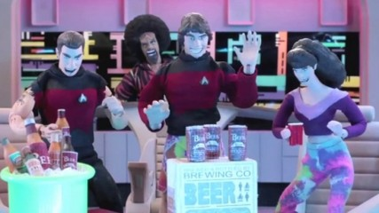 Star Trek : Chris Pine et Patrick Stewart chez Robot Chicken