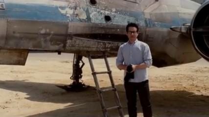 Star Wars Episode VII : Vidéo de Abrams avec X-Wing