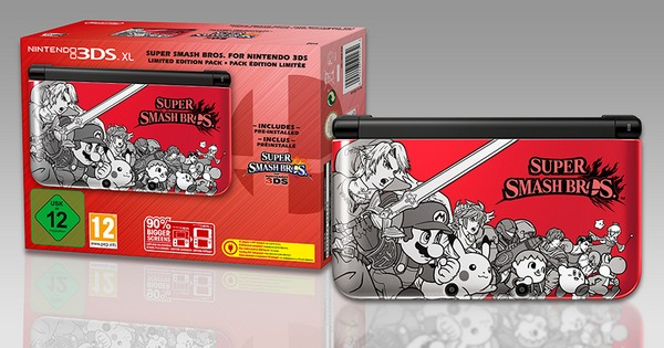 Super Smash Bros 3DS pack