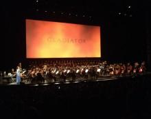 Ciné concert gladiator une