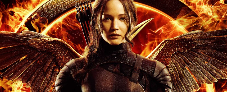 Katniss Everdeen Hunger Games 3 image une  poster officiel