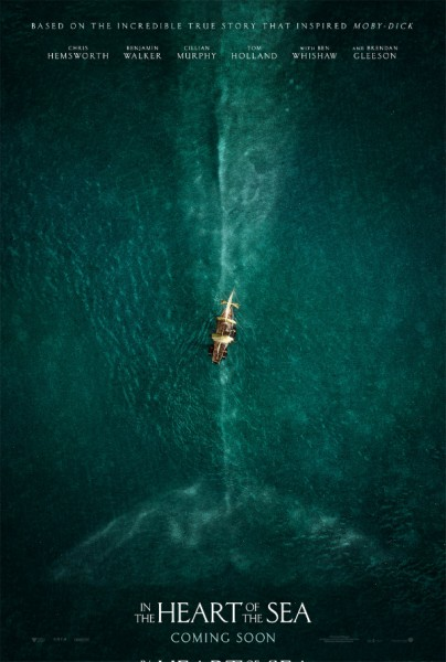 in the heart of the sea - affiche