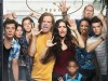 Jeremy Allen White as Lip Gallagher, Emma Kenney as Debbie Gallagher, Ethan Cutkosky as Carl Gallagher, William H. Macy as Frank Gallagher, Emmy Rossum as Fiona Gallagher, Brandon/Brenden Sims as Liam Gallagher, Shanola Hampton as Veronica Fisher, Steve Howey as Kevin Ball and Cameron Monaghan as Ian Gallagher in Shameless (Season 5) - Photo: Brian Bowen Smith/SHOWTIME - Photo ID: SHAME_S5_KA01_Cafe_Vert_4C